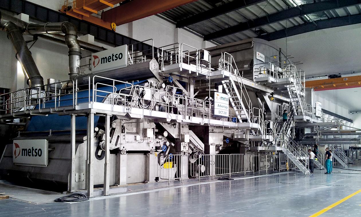 metso paper machine