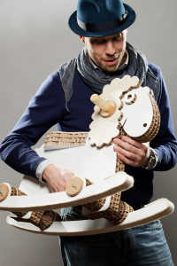 Davide Paganotti, a minimalist Italian designer.