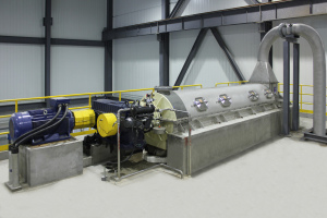High dewatering performance and low energy consumption by Voith.