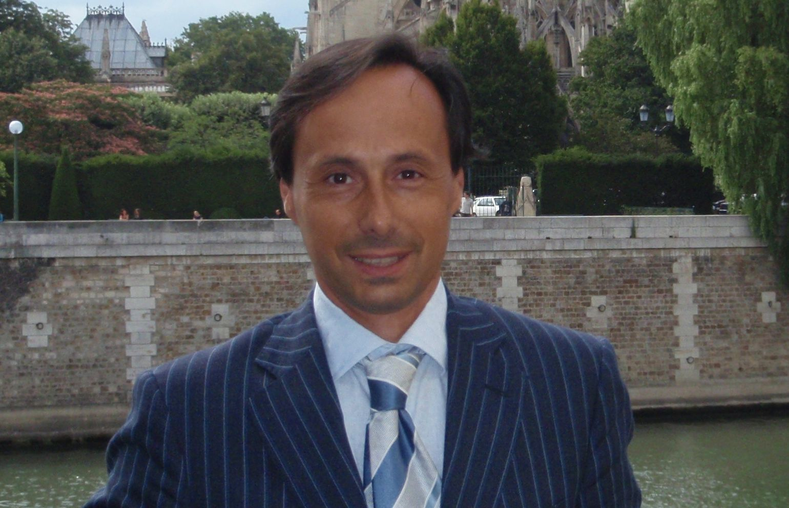NCR Biochemical Business Manager Alessio Canfailla.