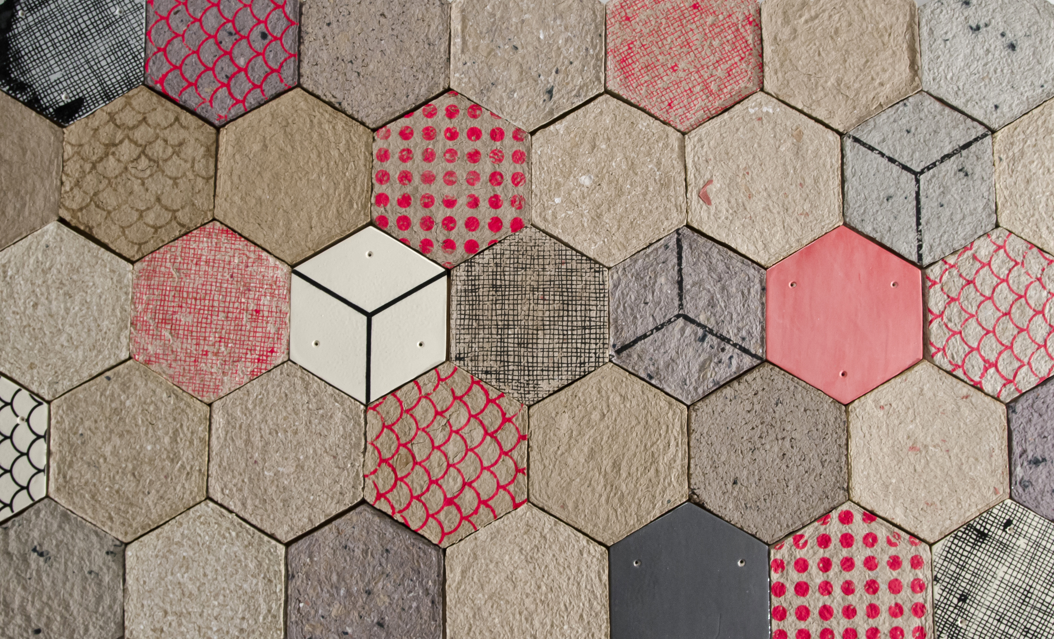 The untapped potential of recycled cardboard paper industry world made in recycled paper fibre and used to make tiles with good sound absorption qualities using a process similar to that of ceramic tiles dailygadgetfo Image collections