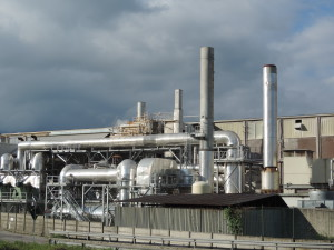 The cogeneration plant with integrated eco recovery created by Lucart Group.