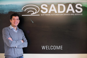 Sandro Galli, Sales and Marketing Manager for Sadas S.r.l.