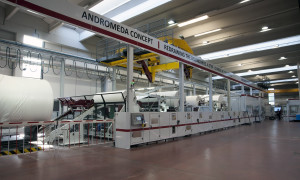 The Andromeda concept at FuturaLab following It's Tissue 2015.