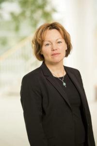 Gunilla Saltin, Business Area President Of Södra Cell.