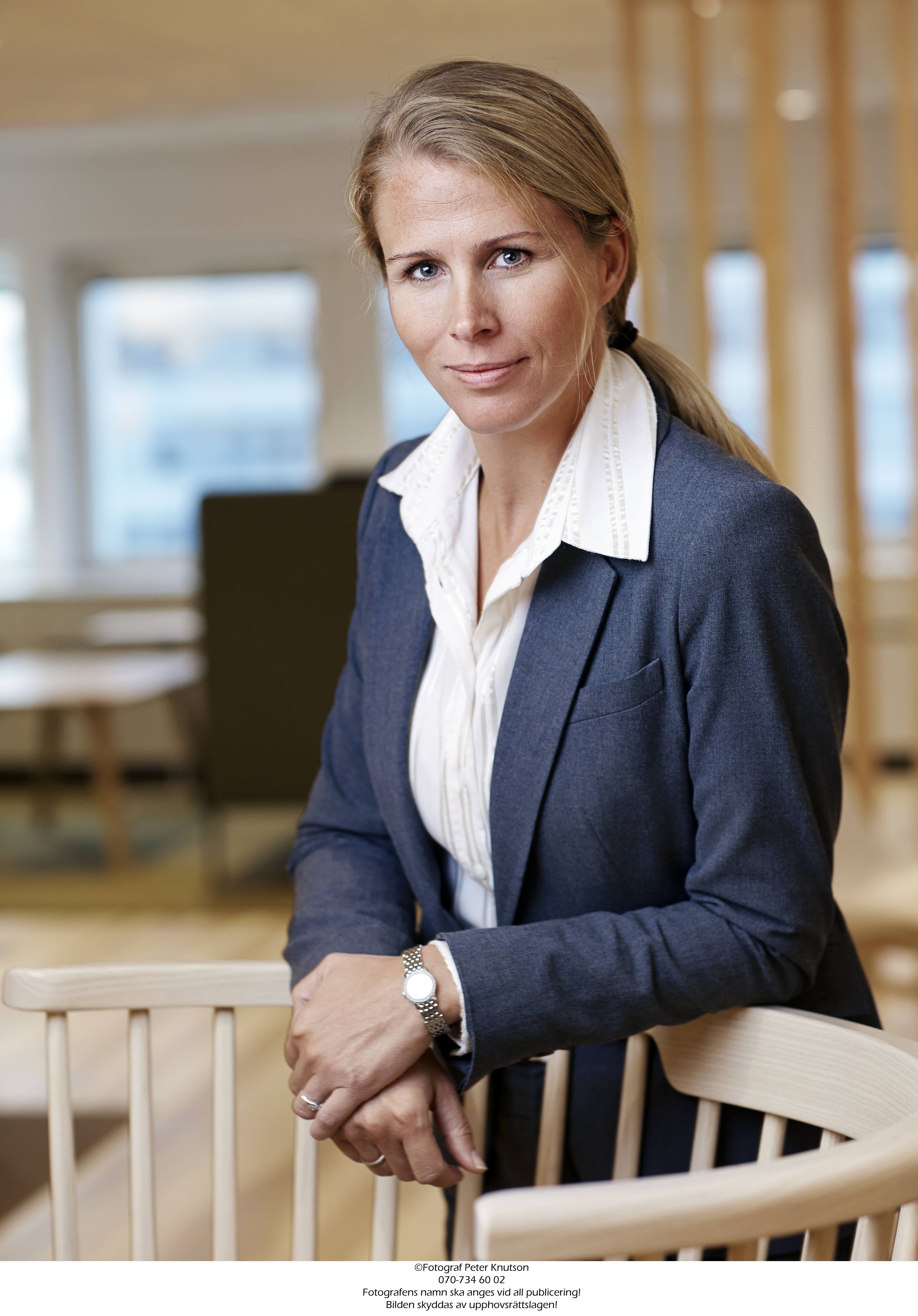 Malin Bendz, the new Executive Vice President of human resources and a member of the Leadership Team Group of Stora Enso.