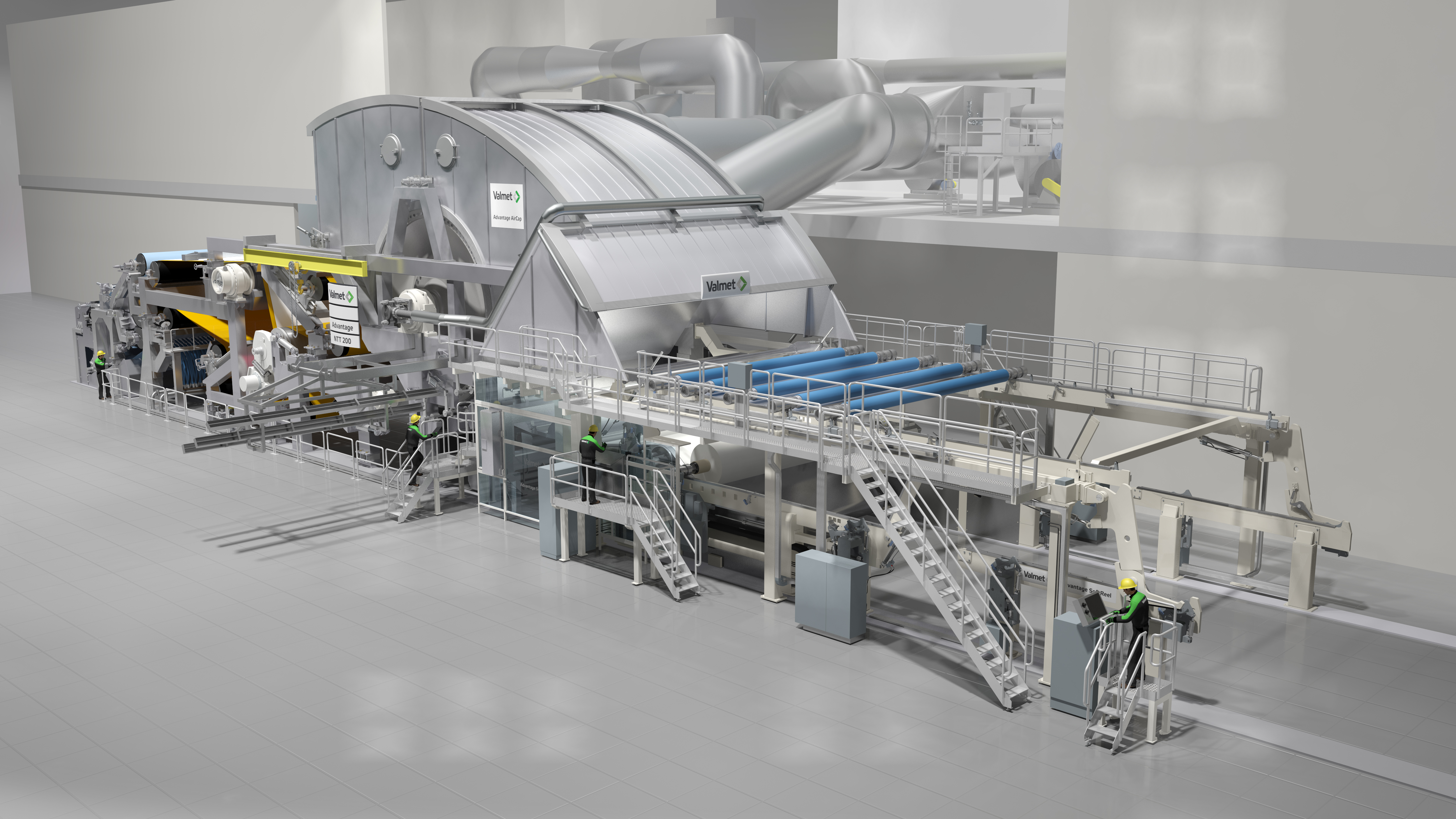 Valmet To Supply Two Advantage Ntt Tissue Productionlines
