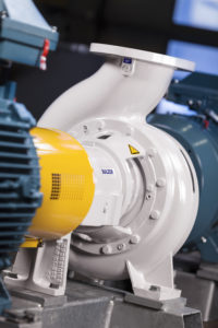 High-efficiency Ahlstar pump.