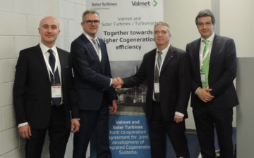 Cooperation agreement between Valmet and Solar Turbines