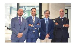 In the picture, form left: Piero Ceccon, Fabio Boschi, Giovacchino Giurlani and Giulio Simonelli.