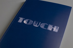 The new book entitled Touch is the seventh edition of A better project and was printed on the following matt coated papers from the Collezione Eccellente range: GardaMatt Art, GardaPat 13 Klassica, GardaPat 13 Kiara and GardaPat 13 Bianka.