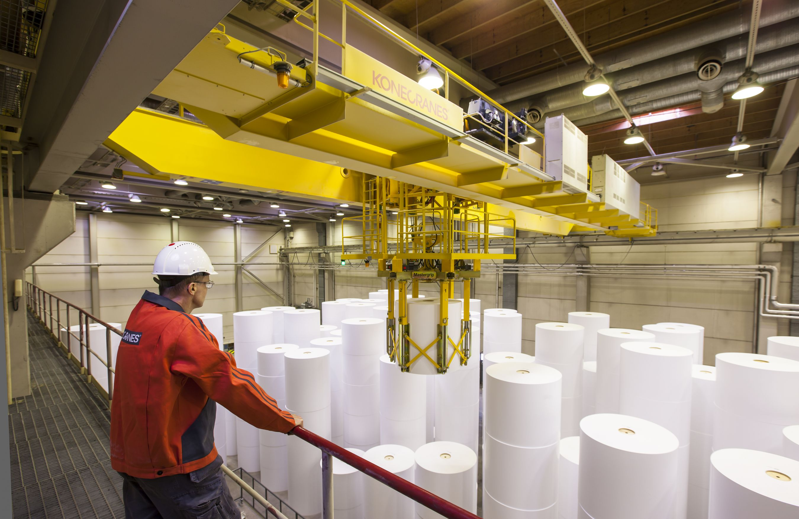 Konecranes Has Every Stage Of The Pulp And Paper Industry