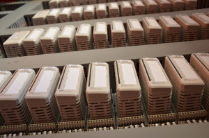 Detail of the signal I/O cabinets for the A.Celli Paper plant in Mexico.