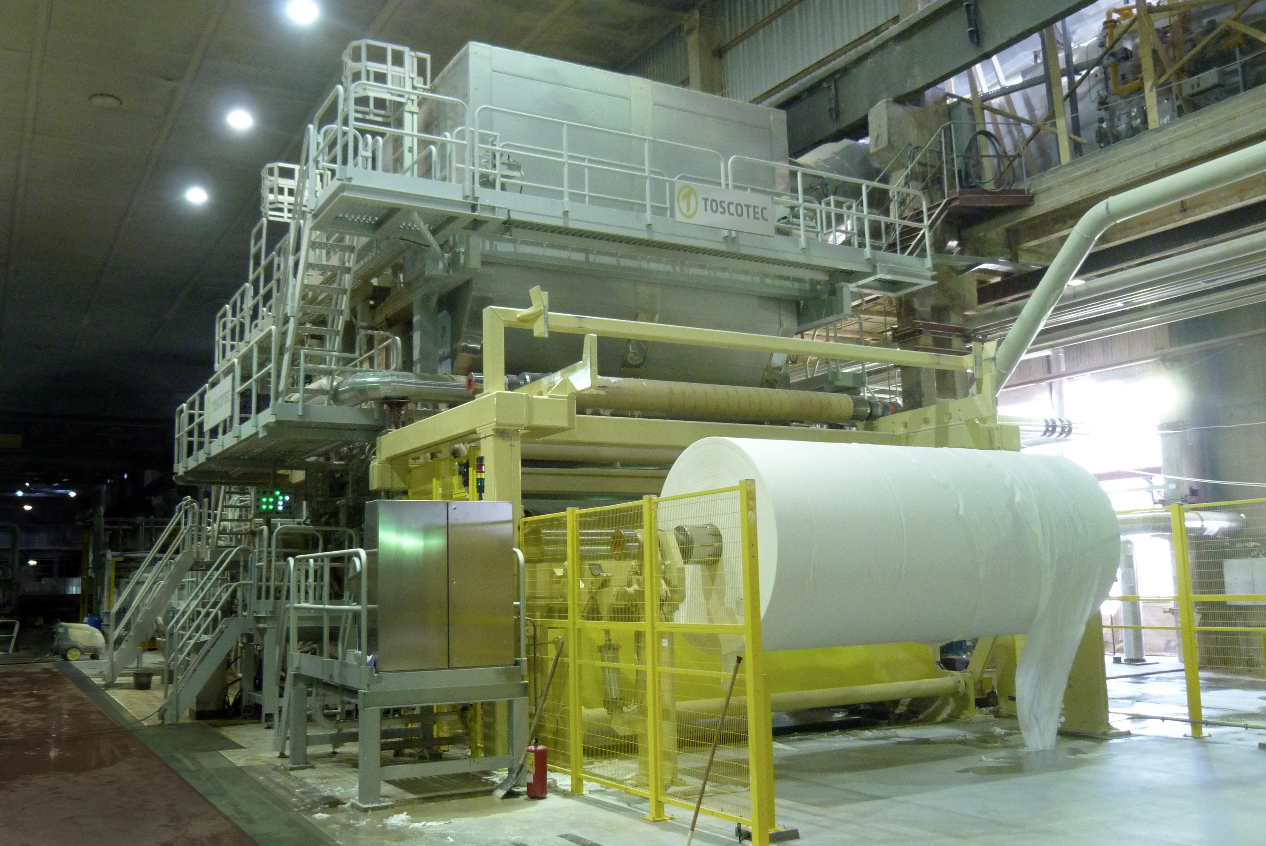 A new Ahead tissue machine at Syasstroy mill - Paper
