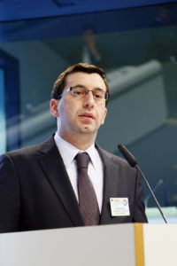Nicola Rega, Climate Change and Energy Director representing the Confederation of European Paper Industries (Cepi).