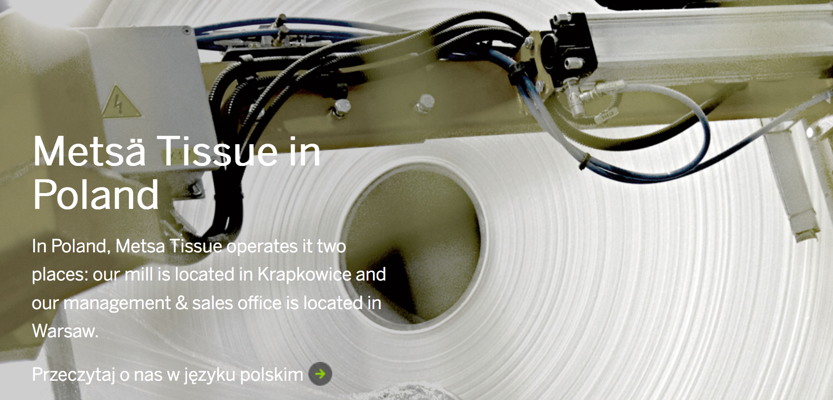 Metsä Tissue focuses on the Polish factory of Krapkowice - Paper Industry World